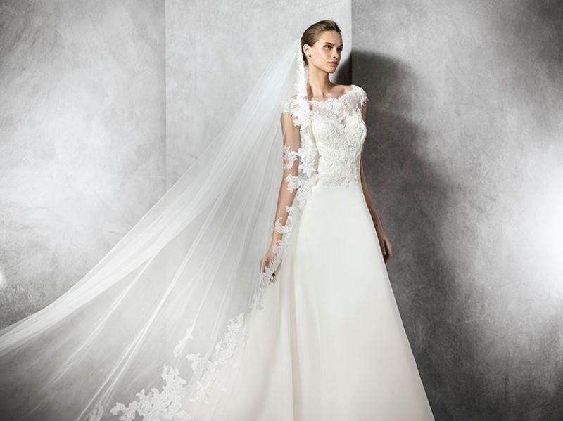 Pronovias előfoglalás - La Mariée esküvői ruhaszalon: Taylor eskövői ruha