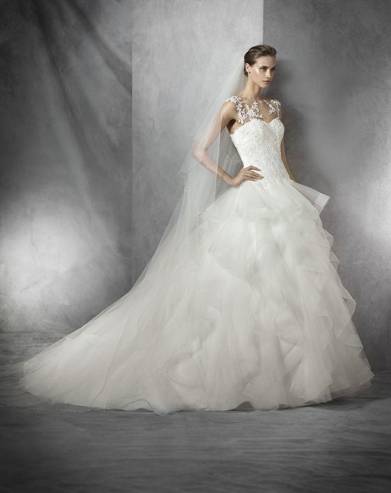 Pronovias előfoglalás - La Mariée esküvői ruhaszalon: Trinity menyasszonyi ruha