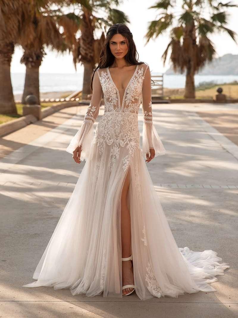 Esküvői ruha bérlés, vásárlás – Pronovias 2021-es kollekció: Tyson menyasszonyi ruha