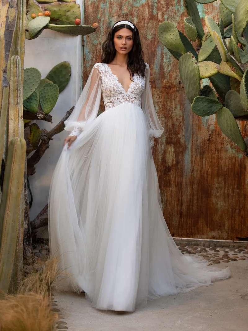Esküvői ruha bérlés, vásárlás – Pronovias 2021-es kollekció: Woodward menyasszonyi ruha