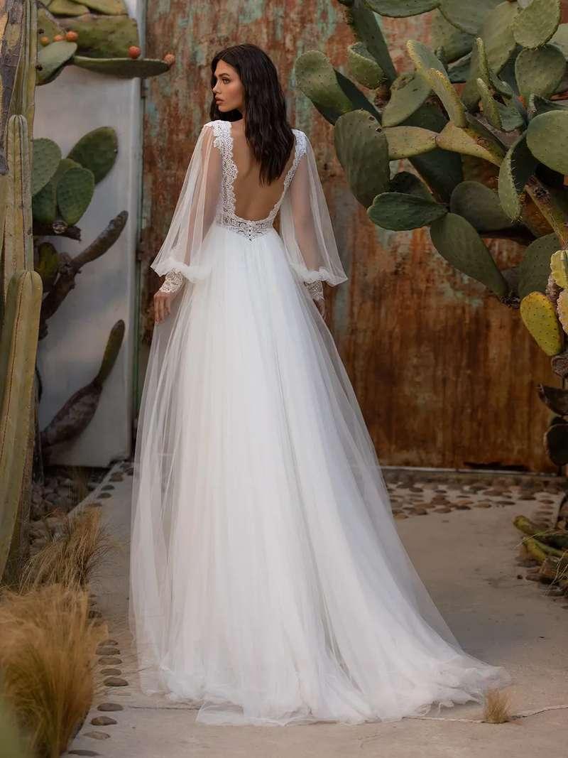 Esküvői ruha bérlés, vásárlás – Pronovias 2021-es kollekció: Woodward eskövői ruha