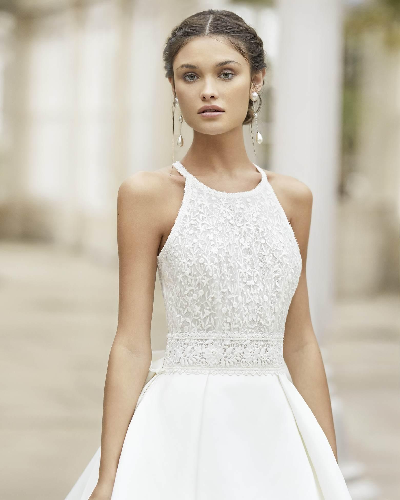 Rosa Clará 2021 menyasszonyi ruha: Tysar